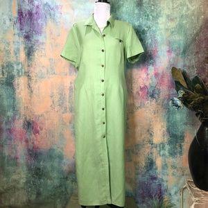 🍈 Positive Attitude  Lime green Dress 🍈